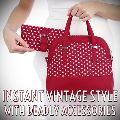 Ruby Shoo Vintage style accessories