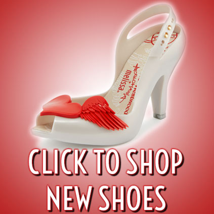 New 50's vintage style shoes from Lola Ramona, Ruby Shoo, Vivienne Westwood and more