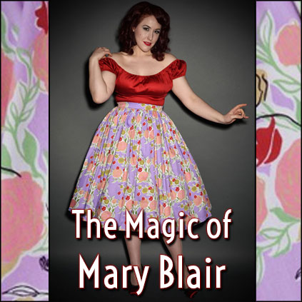 Shop the Pinup Girl Clothing Magic of Mary Blair collection with their UK stockists Deadly is the Female