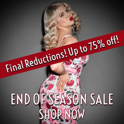 Deadly is the Female Sale - Pinup Girl Clothing, Stop Staring, Trashy Diva UK Stockists and lots of The Pretty Dress Company too!