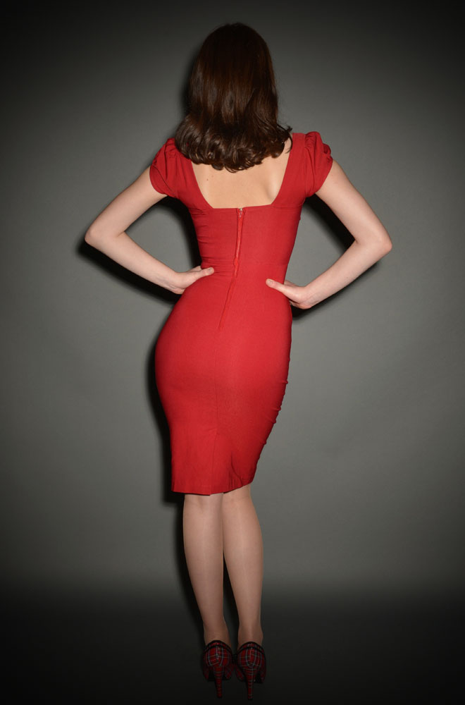 Stop Staring Red Billion Dollar Baby Dress at UK Stockists Deadly is the Female