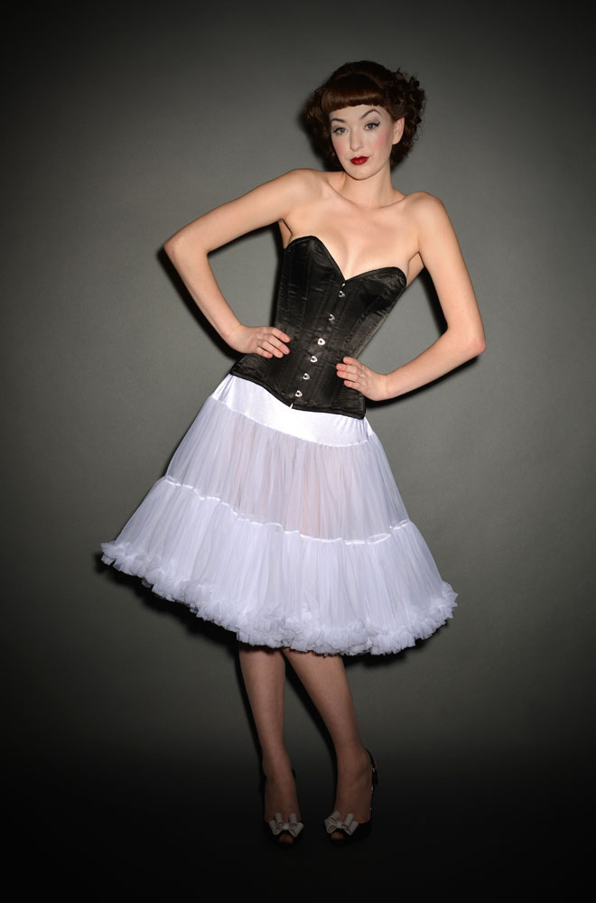 Peggy Sue Petticoat in White Chiffon £65.00