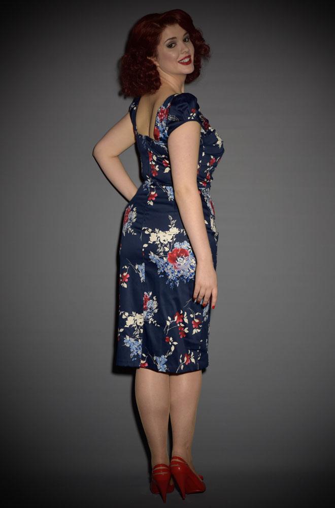 Nova Floral Wiggle Dress