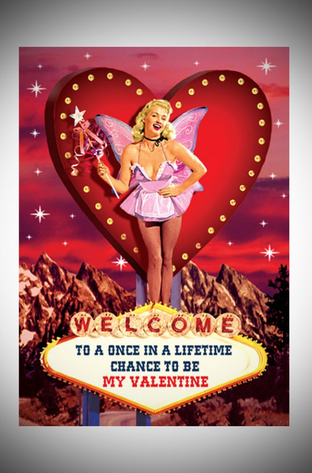 Max Hern Kitsch Valentine's day card