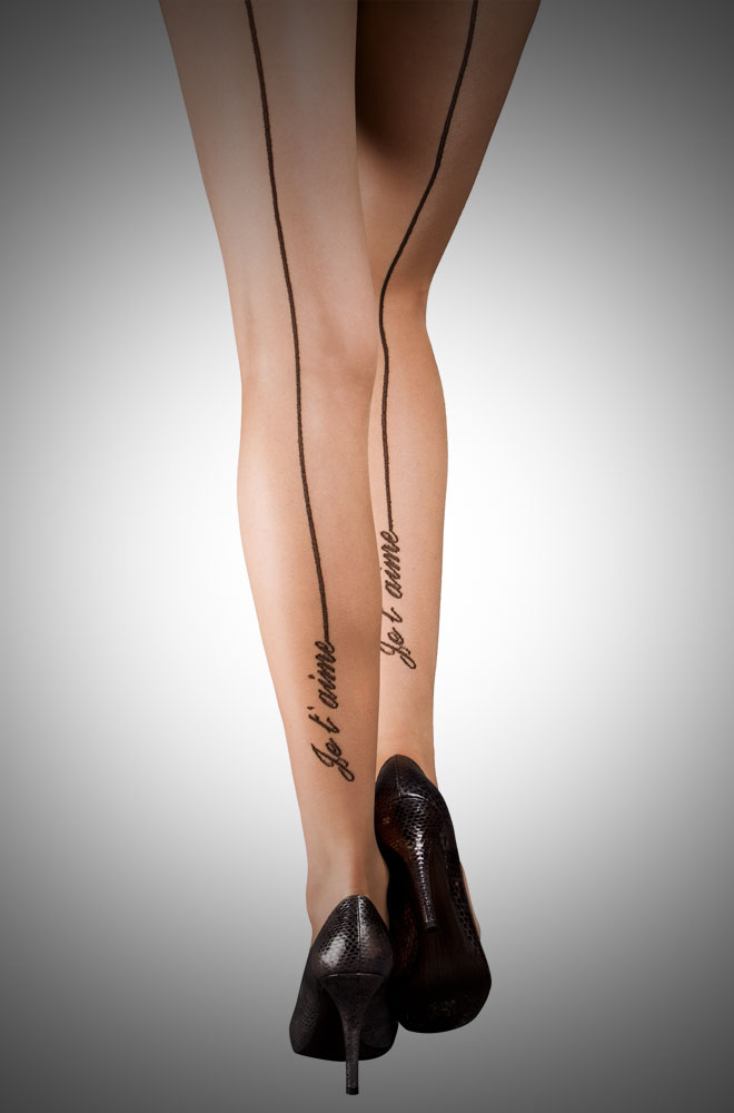 Je T'aime Seamed Tights £7.00
