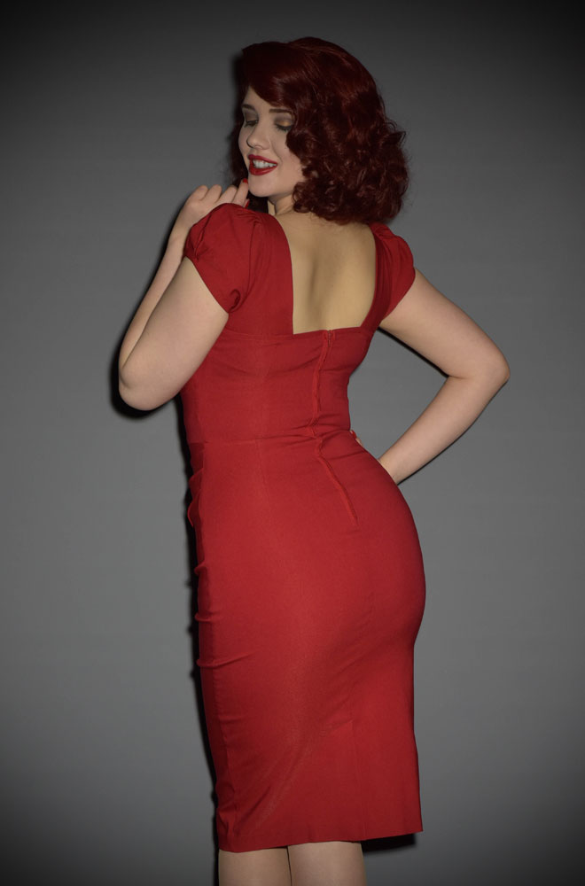 Stop Staring Red Billion Dollar Baby Dress as seen on Nigella