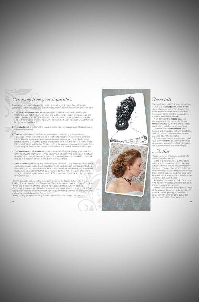 Create Vintage-Inspired Wedding Hairstyles by Lauren Rennells