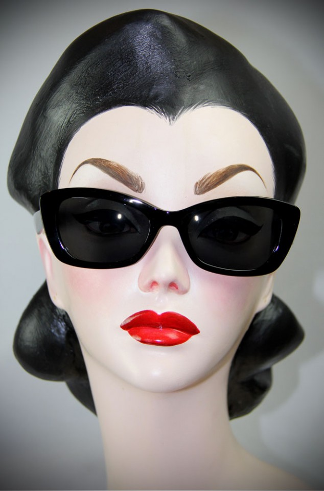 Black Katherine Sunglasses at Deadly is the Female