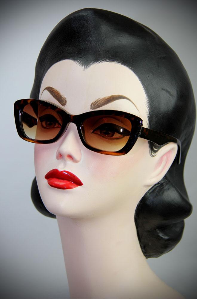 Tortoiseshell 50's style Katherine Sunglasses