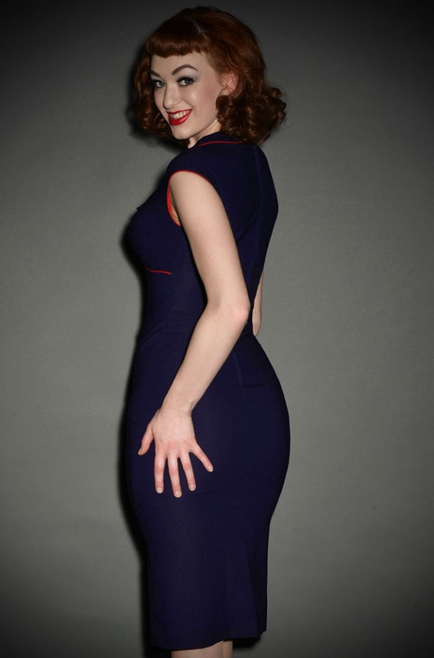 The 30's Bombshell dress by Stop Staring is a classic vintage style dress