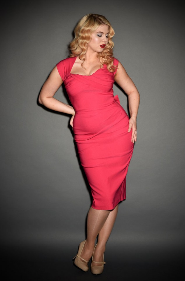 Pink Love dress - Stop Staring UK stockist Deadly is the Female
