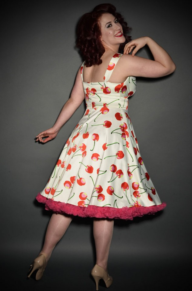Cherry Bomb vintage style 50's swing dress at Deadly is the Female