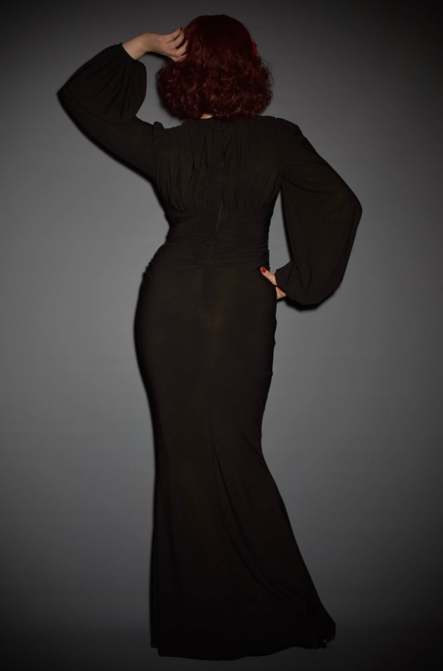 1930's Gia Gown by Laura Byrnes California at UK Stockists Deadly is the Female