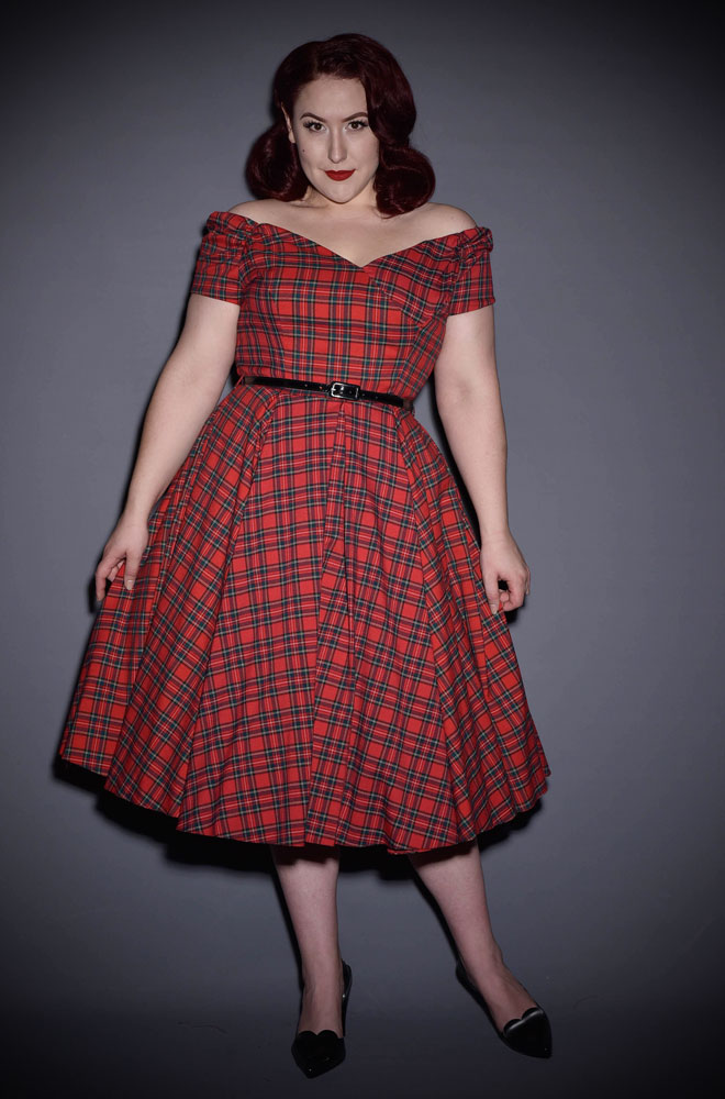 Product of the Week: Fatale Prom Dress in Red Tartan