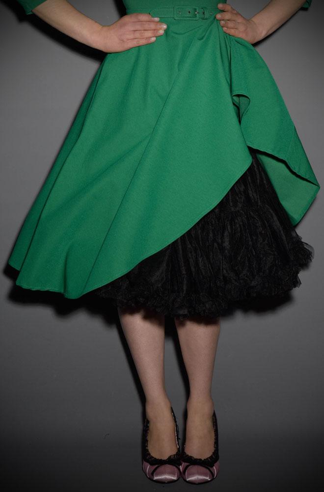 Jennifer 1950's style black chiffon petticoat
