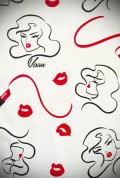 Vixen by Micheline Pitt Lipstick Print.
