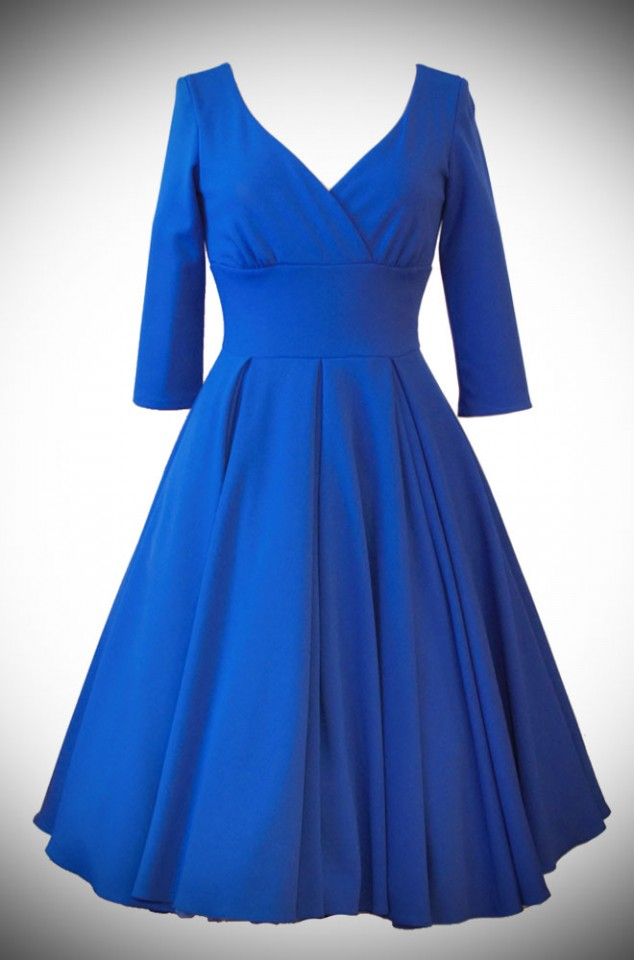 1950s Style Vintage Inspired Swing Dresses Deadly Is The