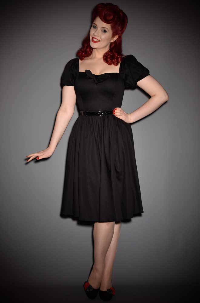 The Black Vixen Swing Dress has arrived at Deadly, official UK stockists of Vixen by Micheline Pitt.Good things for bad girls.