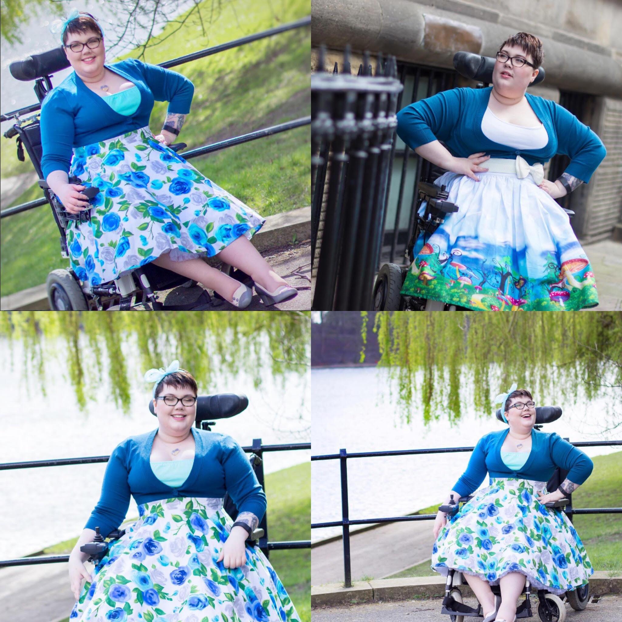 Wheelchair Vintage Fashionista!