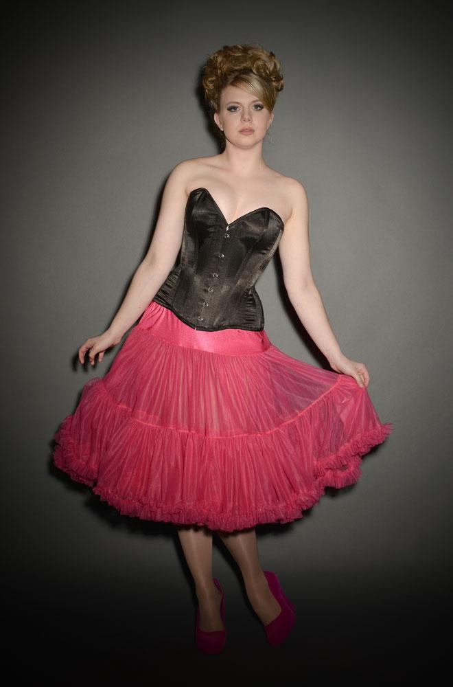 Jennifer 1950 S Style Turquoise Chiffon Petticoat