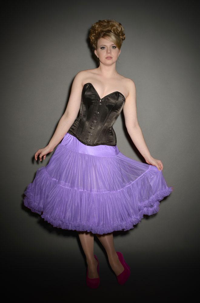 Chiffon Petticoat in Lavendar £60