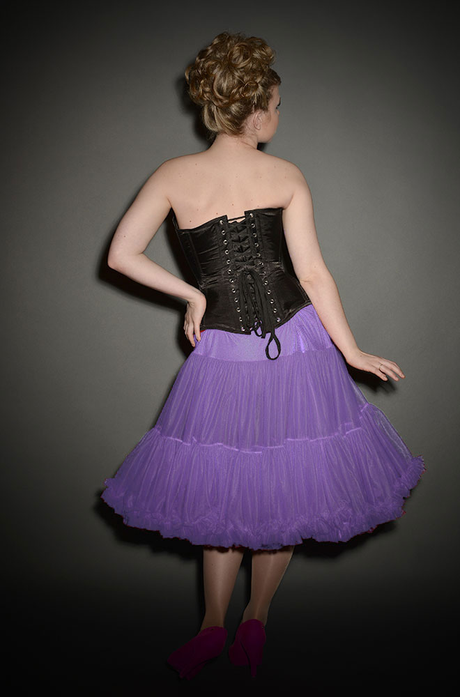 1950s Style Petticoat Or Crinoline In Lavender At Deadly