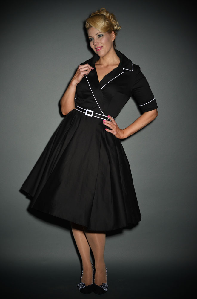Deadly Dames black Haunted Housewife Dress at Deadly is the Female