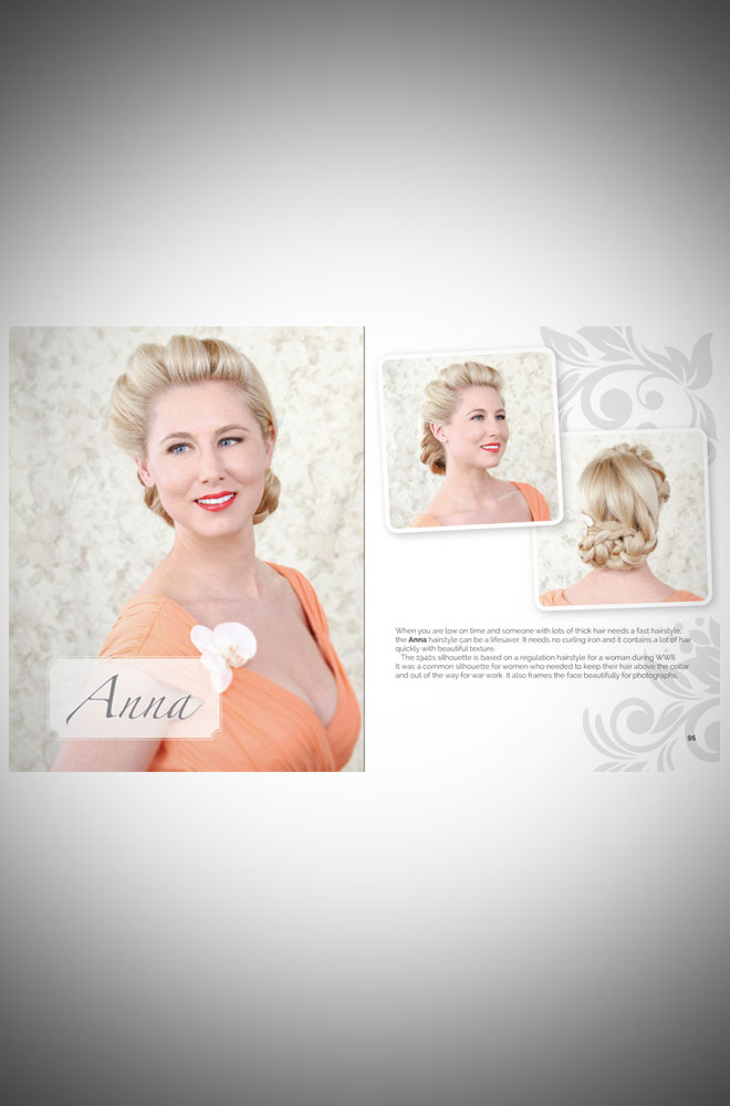 Create Vintage-Inspired Wedding Hairstyles by Lauren Rennells