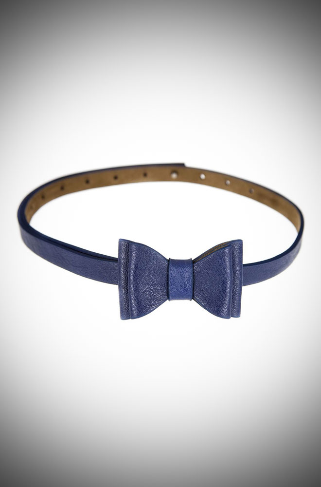 vintage style bow belt by Tatyana at official UK stockists, Deadly is the Female