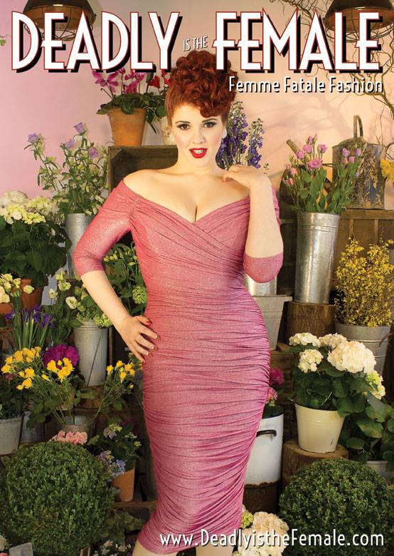 Deadly is the Female Advert Monica Dress in Vintage Life Magazine