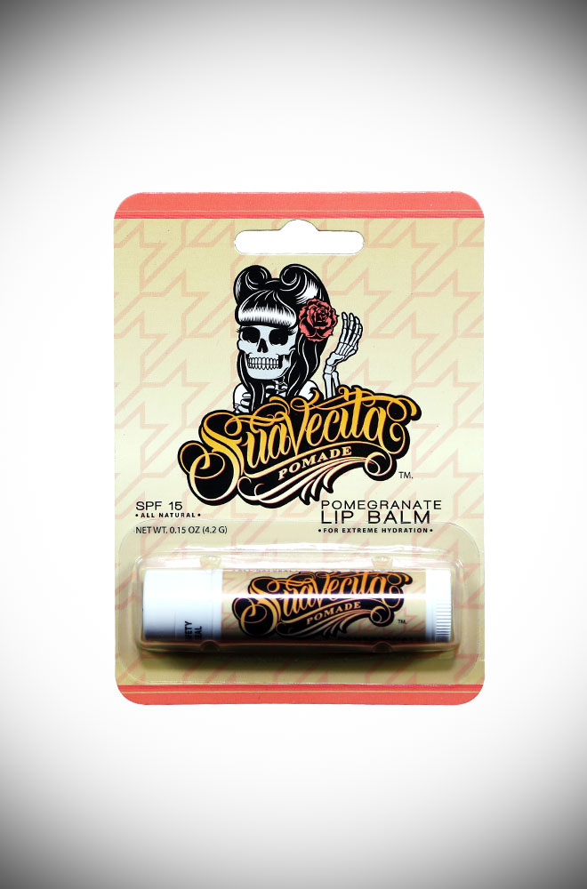 Introducing the Suavecita Pomegranate Lip Balm, For extreme hydration! Deadly is the Female are proud UK stockist of Suavecita Pomade.