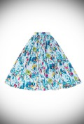 The Paris Print Jenny Skirt Landscape Jenny Skirt by Pinup Couture is back in stock at Deadly is the Female. Proud UK stockists of Pinup Girl Clothing Housebrands.