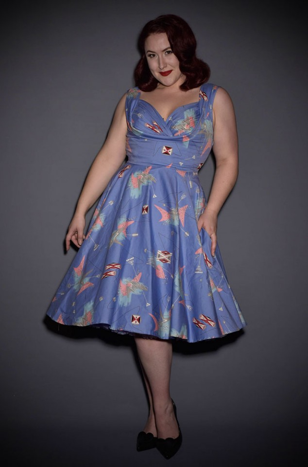 You'll look out of this world in this Trashy Diva retro Lilac Atomic Honey Dress. Deadly is the Female are proud official UK stockists of Trashy Diva.