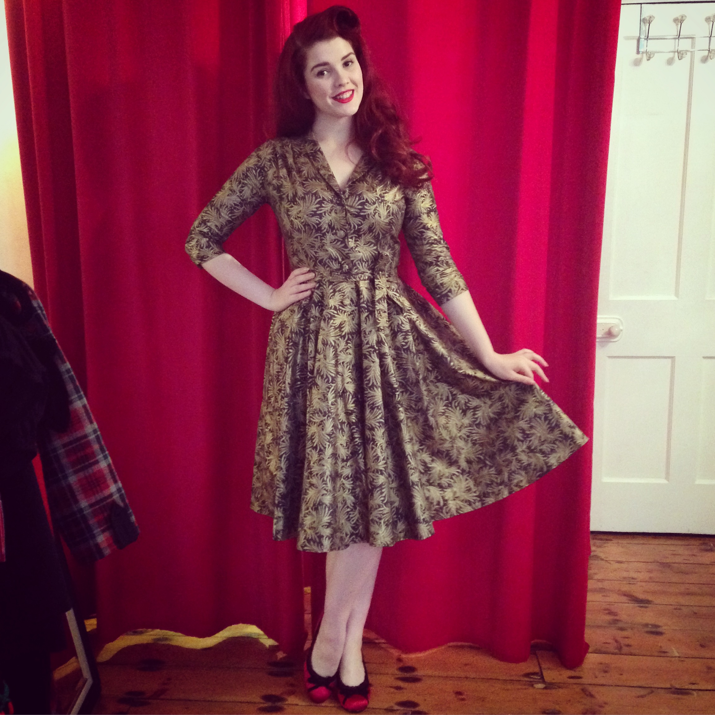 Monte Carlo Flourish Dress £150.00