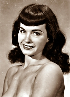 Bettie Page Bang Hairstyle