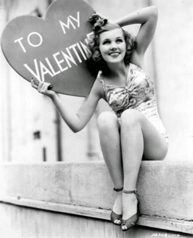Joyce Mathews getting ready for Valentine's Day