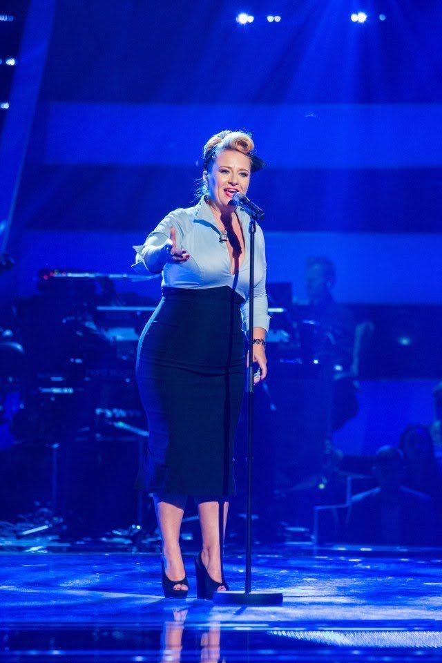 Miss Cherry Bomb The Voice UK Superstar!