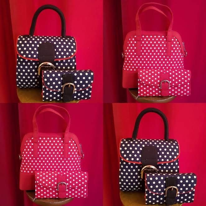 Polka Dot Bags and Purses