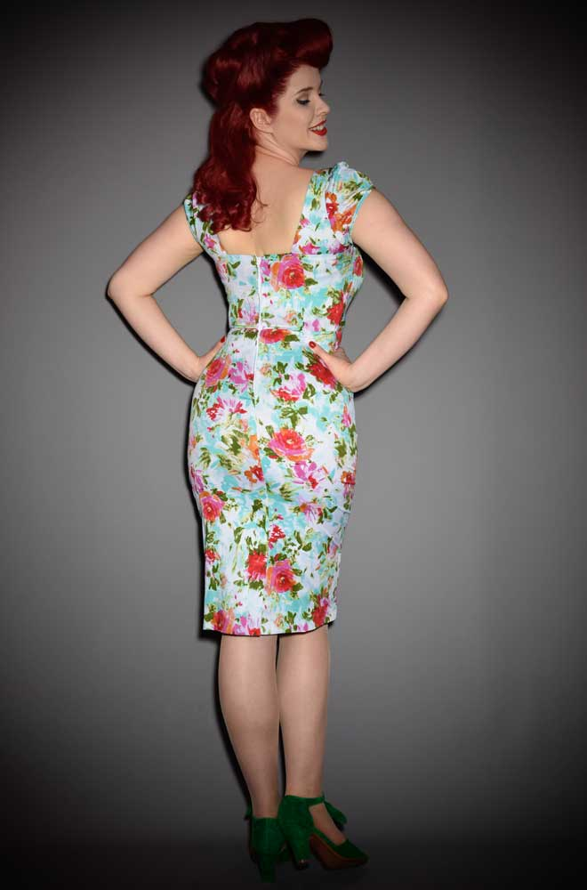 The Stop Staring! Watercolour Dress is one hell of a wiggle dress! DeadlyistheFemale.com are proud to be UK stockists of Stop Staring!