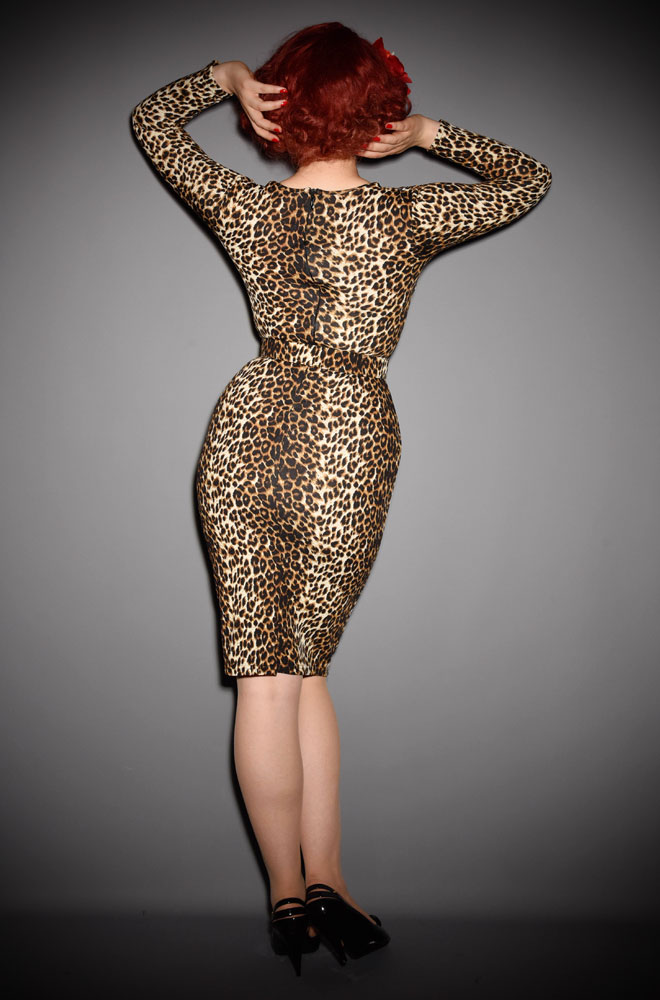 The Leopard Print Starlet Dress Is Ultimate Old Hollywood Tail Deadly