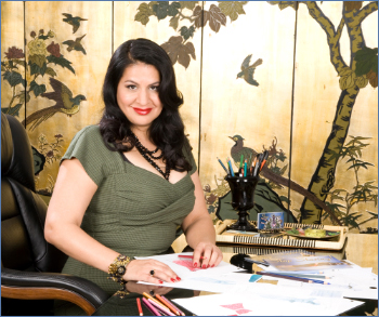 Alicia Estrada, designer and founder of Stop Staring! Deadly is the Female are official Stop Staring UK stockists