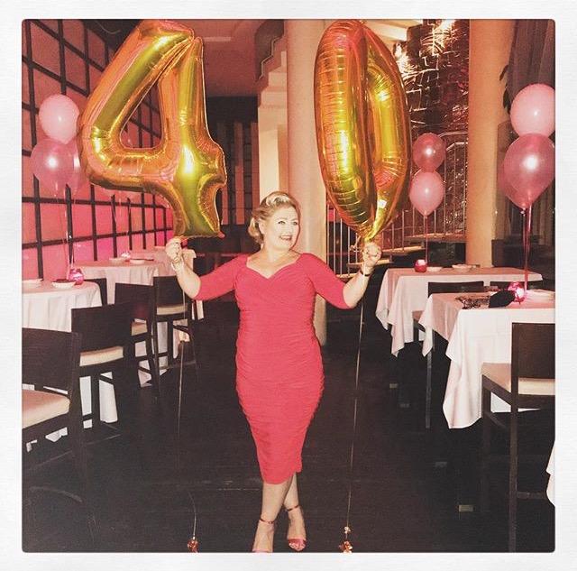 Customer of the Week Ravishing in Red at 40!
