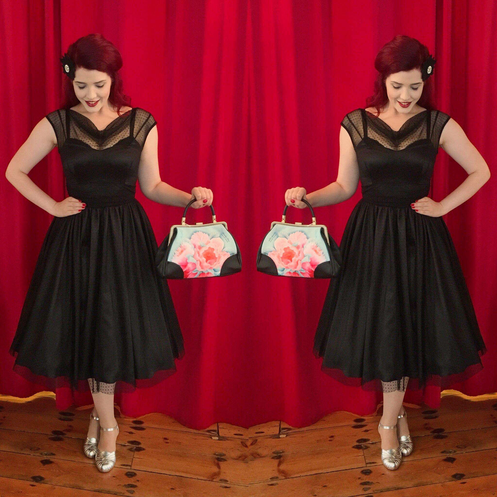 Stop Staring Adriel Swing Dress an Elegant Little Black Dress