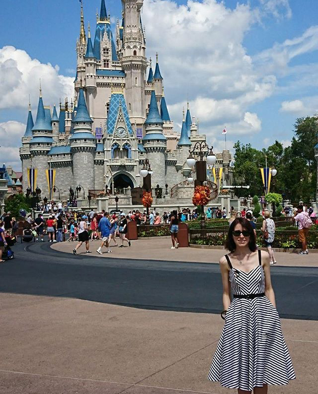 Customer of the Week Disney Dream in the Dollface Dress