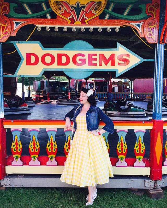Vintage Gingham Dream Customer of the Week!