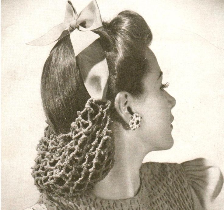 Hair Snoods - What are They and How to Style Them!