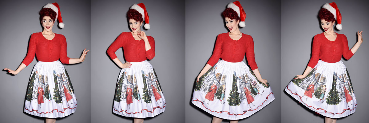 Pin up vintage style Christmas gift ideas