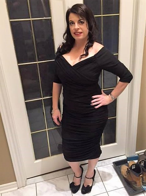Customer of the Week Little Black Party Dress!