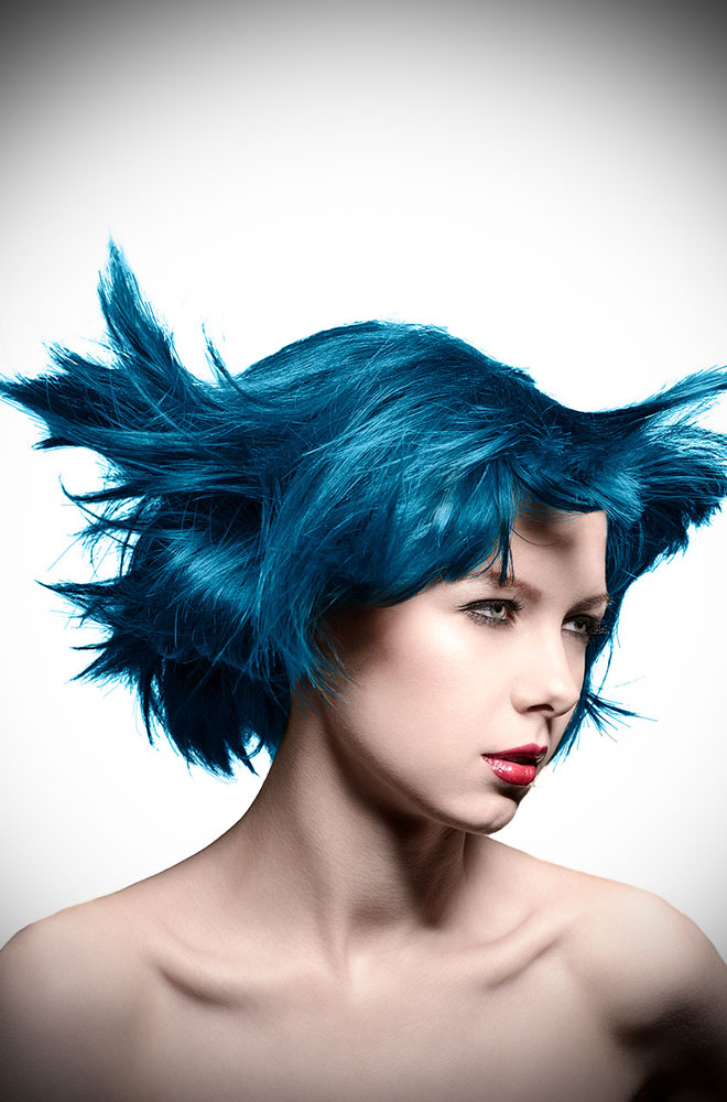 After Midnight Manic Panic Semi Permanent Hair Colour is a stunningly rich shade of blue. Deadly is the Female are UK Stockists of Manic Panic Hair Colour.