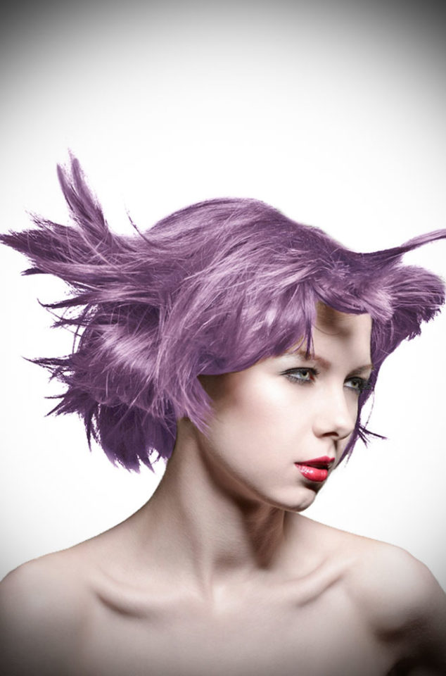 Amethyst Ashes Manic Panic Semi Permanent Hair Colour is a stunning slate grey with a hint of violet. Deadly is the Female are UK Stockists of Manic Panic Hair Colour.